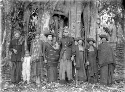 Gambar Pakaian Suku Batak karo Tempo Dulu