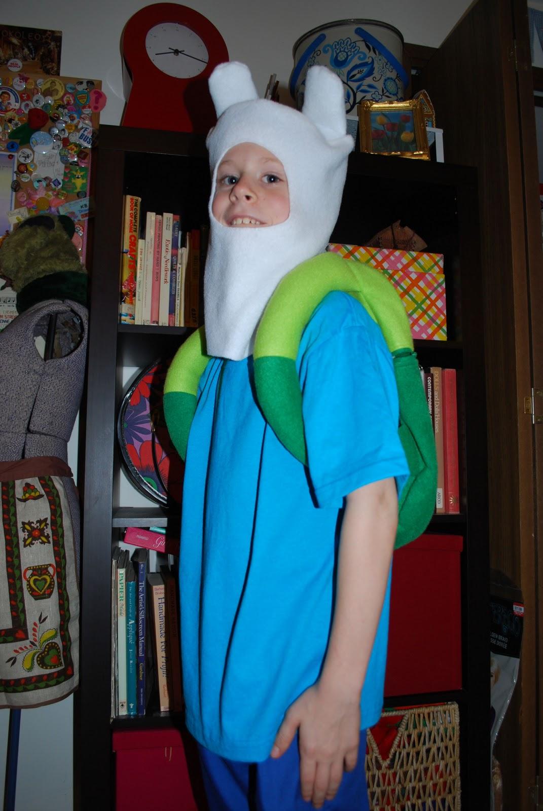 Finn adventure time costume