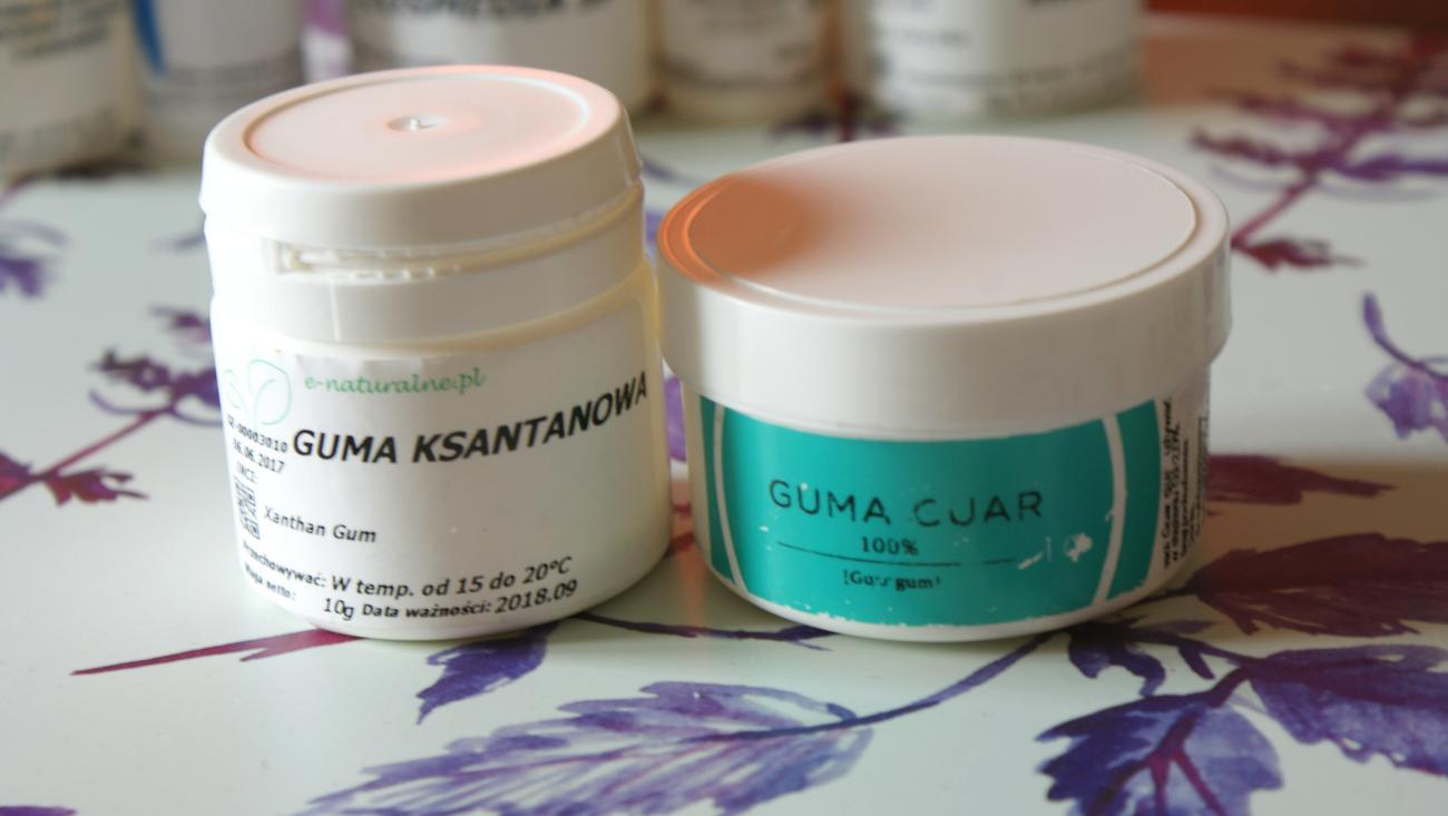Guma guar vs. guma ksantanowa