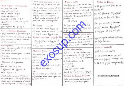 résumé analyse 1 semestre 1 smp smc