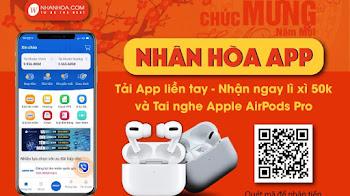 Hướng dẫn nhận 50K từ App Nhân Hòa để mua Domain, Hosting, VPS