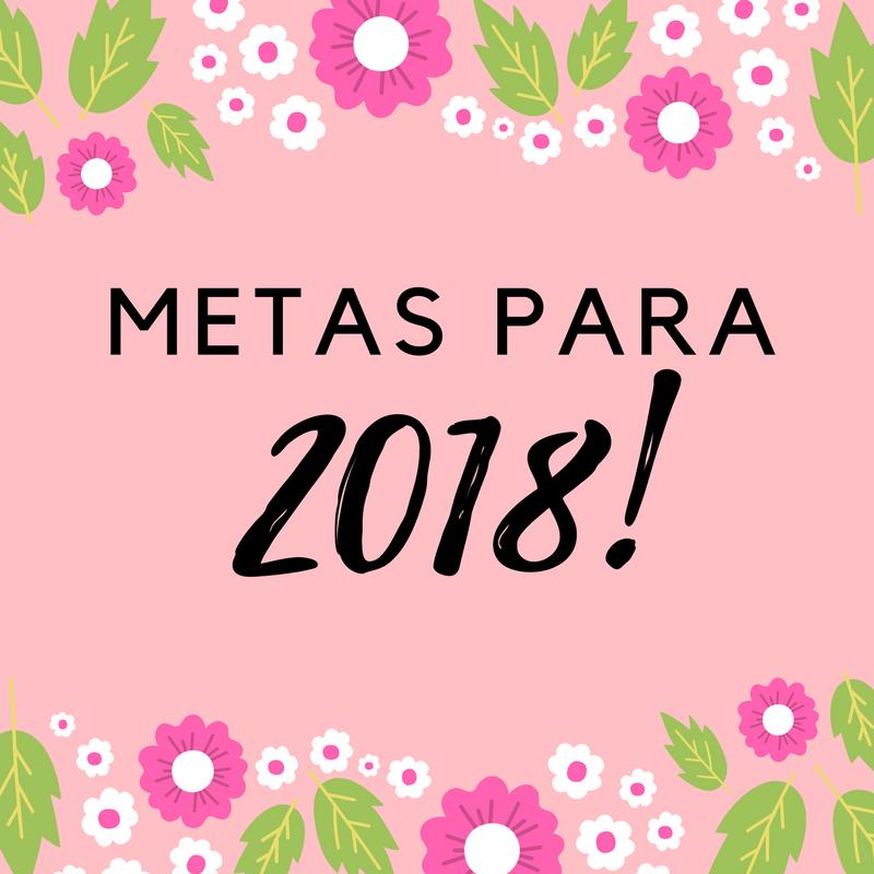 metas para 2018