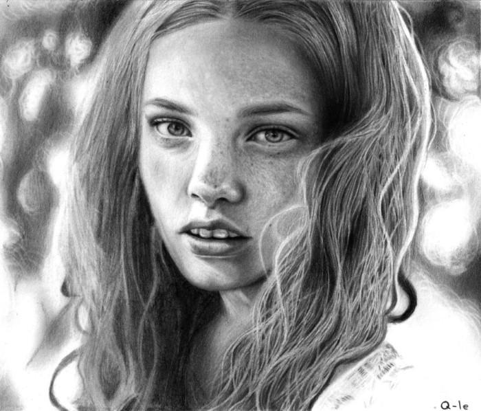 Рисунки карандашом. Q-Le 5