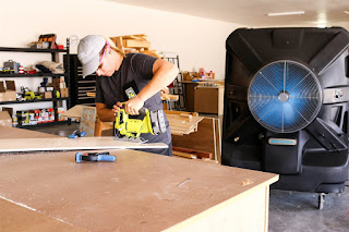 Garage With Fan