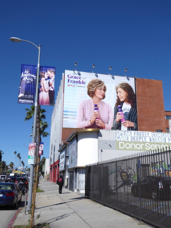 Grace and Frankie season 3 billboard
