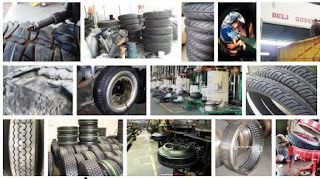 alamat pabrik ban kendaraan roda 4 rekondisi di Indonesia
