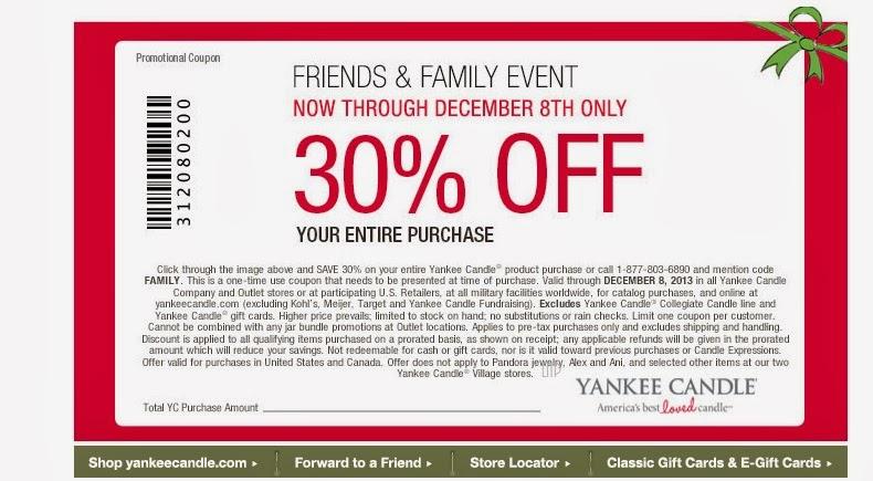 Yankeecandle com coupon
