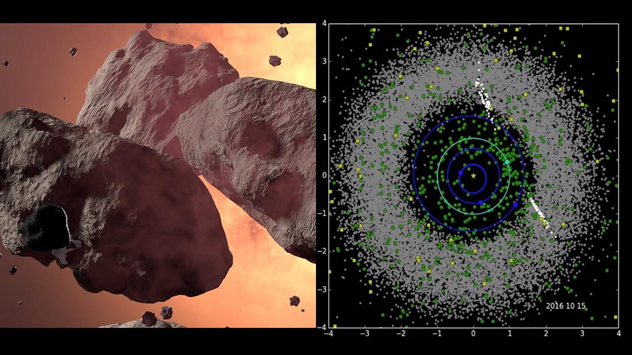 NASA descubre diez nuevos asteroides que pueden ser peligrosos para la Tierra