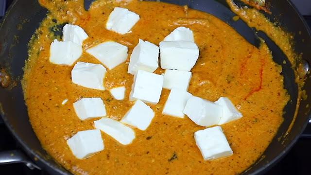 Shahi Paneer tasty and very delicious recipe