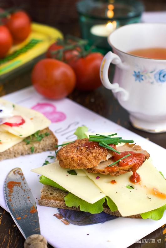 Leerdammer #wirkäsebroten Kampagne Rezeptideen mit Käse für abends