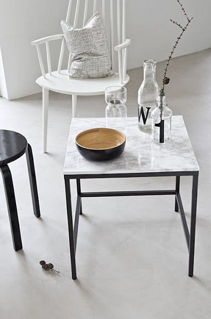 Decoraconmar a moda para el hogar marmol blanco for Marmol gris veteado