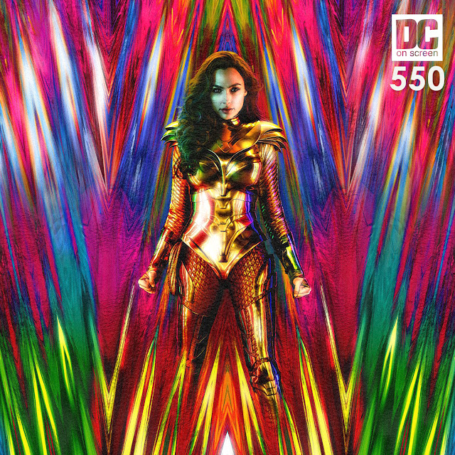 Wonder Woman 1984 First Poster with Body Armor