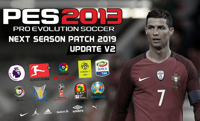 PES 2013 Next Season Patch 2019 Update V2 - Released 30-06-2018