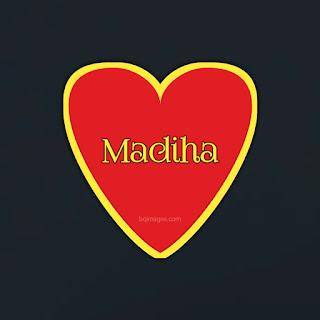 Madiha Name DP