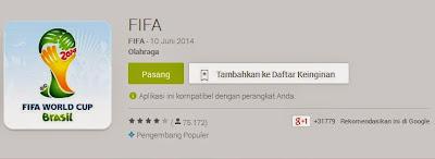 Download Aplikasi Terbaik Android Untuk Update Piala Dunia
