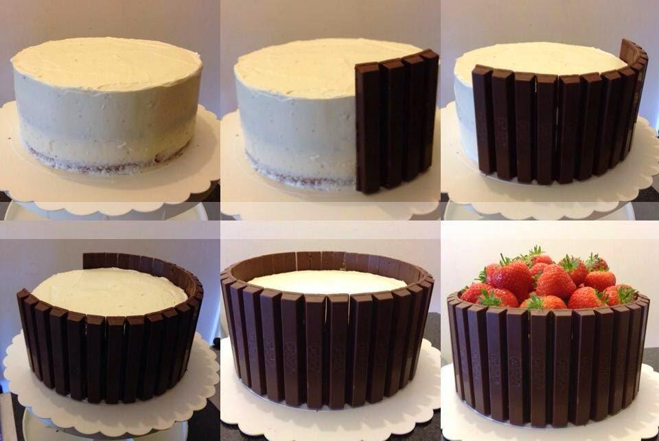 Recipe For Strawberry Kit Kat Cake