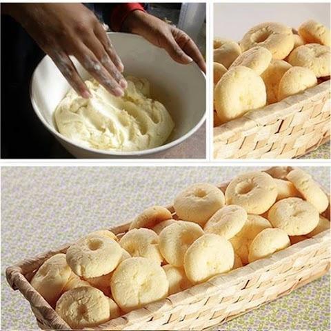 Biscoito de maisena simples