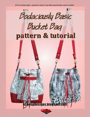 Bodaciously Basic Bucket Bag by eSheep Designs