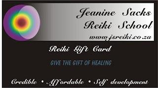 Reiki gift card Johannesburg