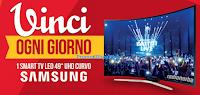 """Logo Concorso ''Con Dreher vinci ogni giorno'': in palio 62 TV LED Samsung 49"""""""