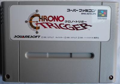 Chrono Trigger (Jap) - Cartucho delante