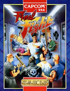 Portada videojuego Final Fight