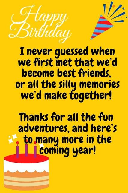 happiest birthday wishes to best friend