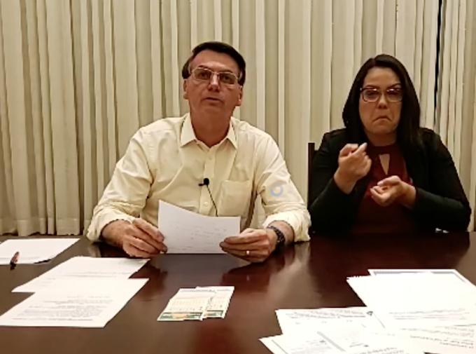 Bolsonaro usa parte da live semanal para rebater críticas ao juiz de garantias, confira: