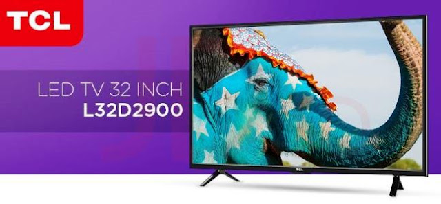 Harga TV LED TCL L32D2900 32 Inch