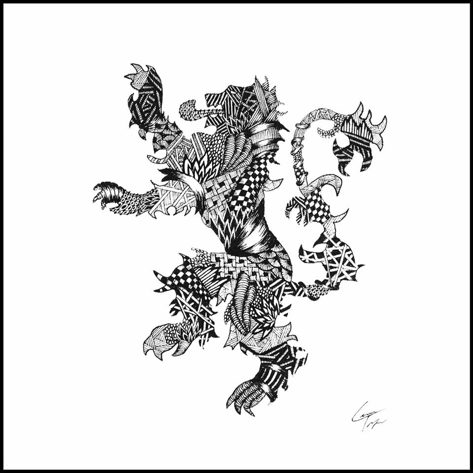 03-House-Lannister-Sigil-Telfer-Game-of-Thrones-Zentangle-and-more-www-designstack-co