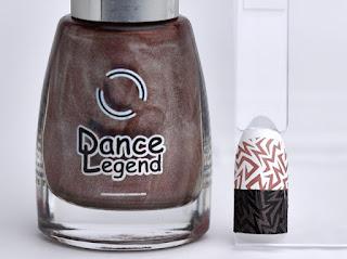 Regular nail polish stamping swatches /  [Dance Legend] Robots vs Humans, スタンピングネイル