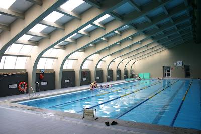 Iluminación piscinas instalaciones deportivas