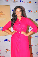 Sree Mukhi in Pink Kurti looks beautiful at Meet and Greet Session at Max Store (66).JPG