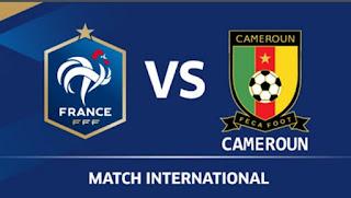 اهداف مباراة فرنسا والكاميرون اليوم الاثنين 30 مايو 2016 وملخص كورة يوتيوب نتيجة لقاء الديوك والأسود غير المروضة الدولي الودي