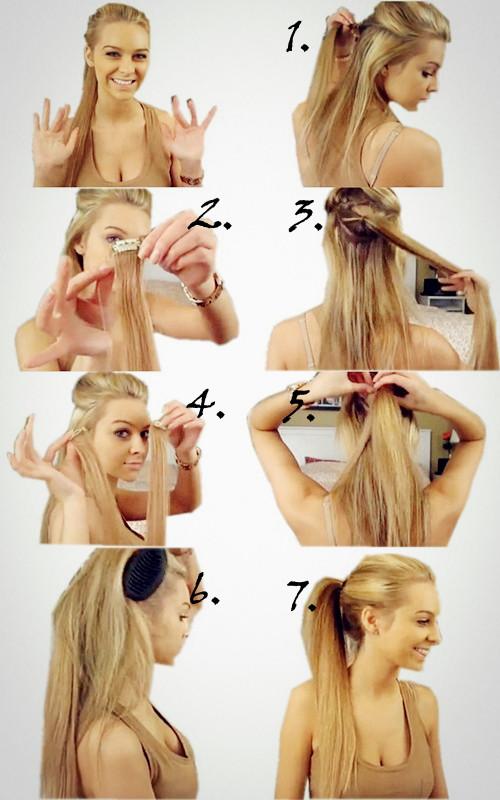 offene frisuren selber machen | haarschnitt lange haare