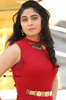 Telugu Actress Zahida Sam Latest Pos in Red Gown at RF Films New Movie Opening  0055.JPG