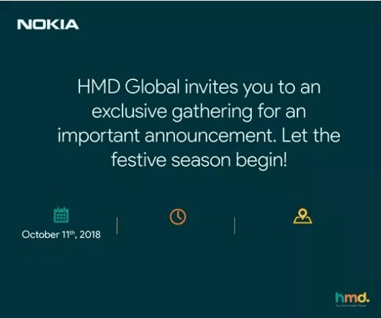 Nokia May Launch Two New Smartphones on 11th Oct; HMD Global Started Sending Invites