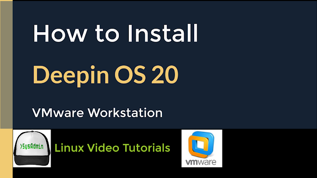 How to Install Deepin OS 20 on VMware Workstation