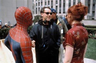 Detras de camaras de spider-man