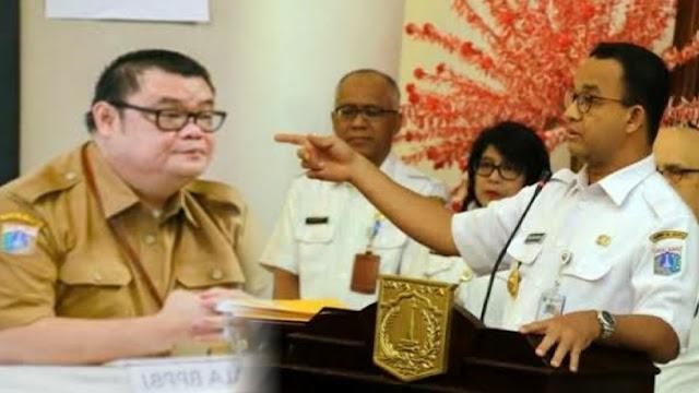 Mendadak Anies Nonaktifkan Kepala BPPBJ DKI, Diduga karena Lecehkan Pegawai