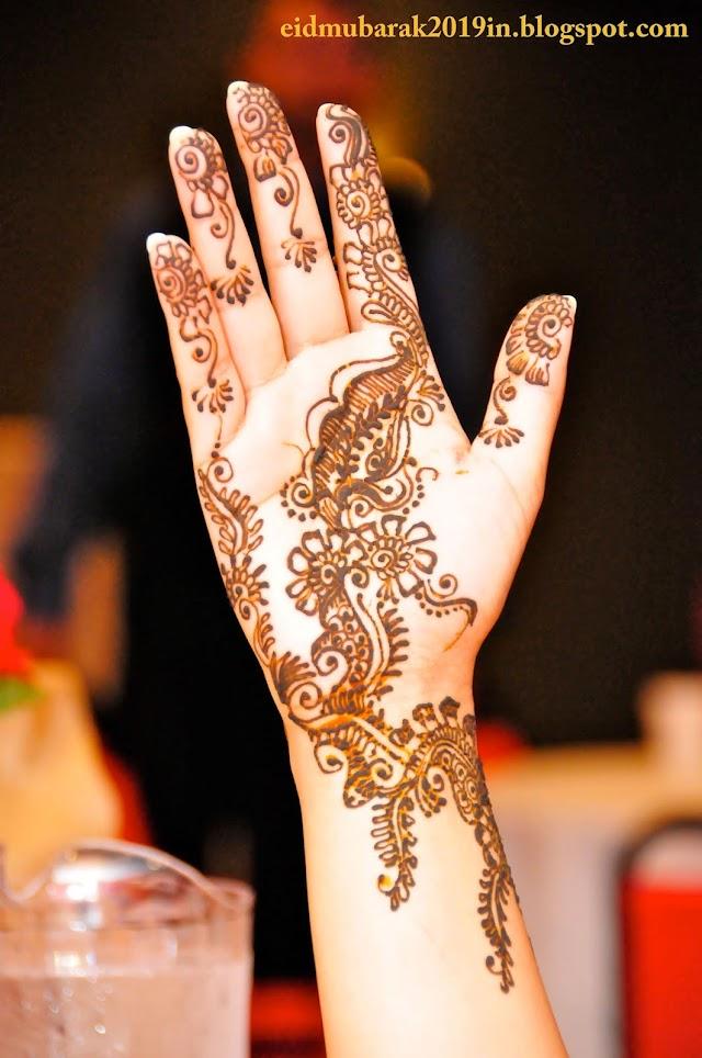 Mehndi Design On Eid