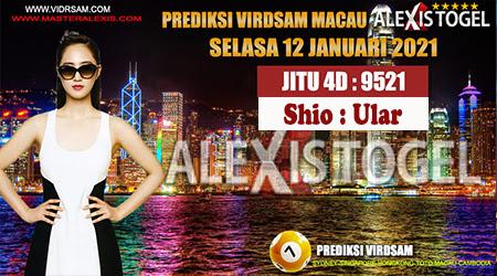 Prediksi Virdsam Togel Macau Selasa 12 Januari 2021