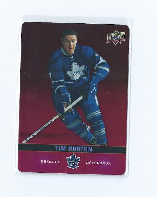 2019-20 Tim Hortons Collector's Series Upper Deck Hockey Card