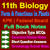 11 Class Biology Notes | Form And Functions in Plants