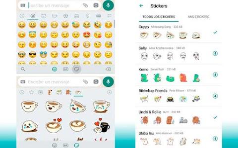 Como activar los nuevos stickers de WhatsApp Messenger