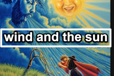 best moral story: wind and the sun