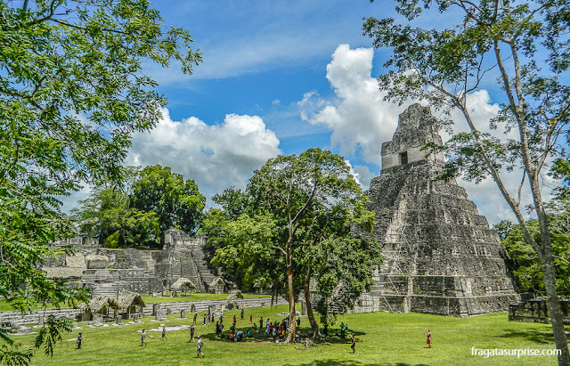 Templo do Grande Jaguar, Tikal, Guatemala