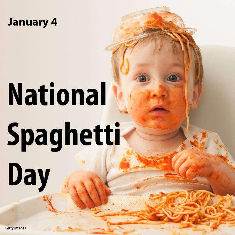 National Spaghetti Day Wishes Photos