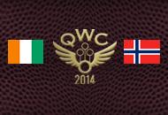Norvegia vs Costa d'Avorio