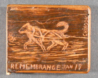 Top of wooden box